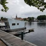 Tiny Houseboat for rent at Boat Rental Friesland | Enjoy on the water