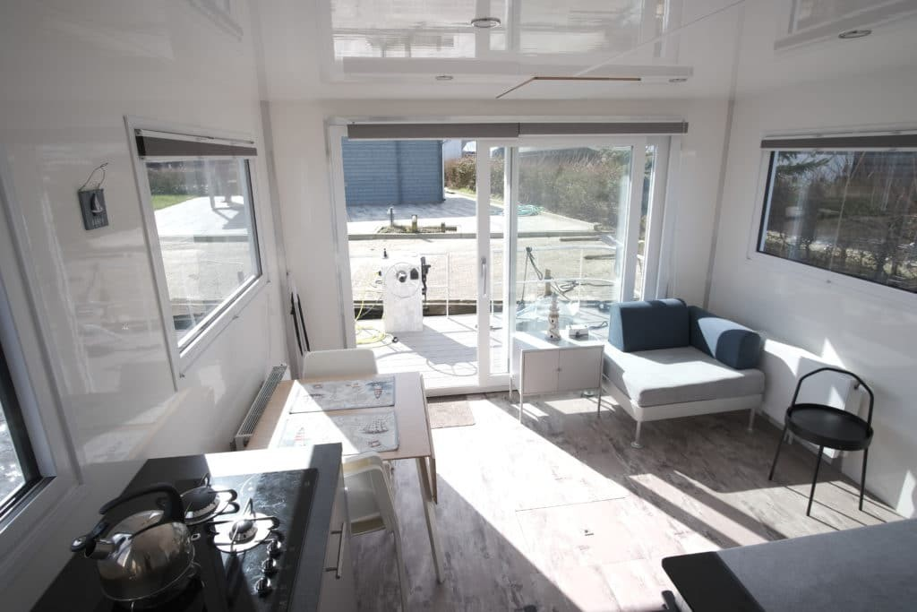interieur Tiny Houseboat