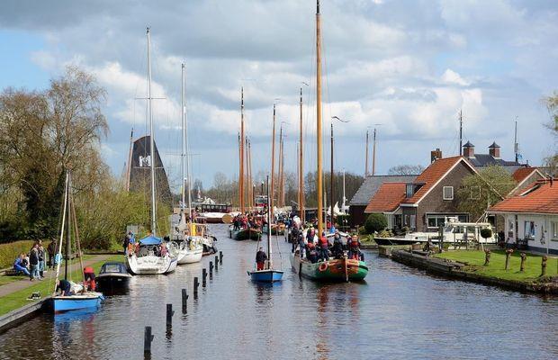 Oude haven Langweer