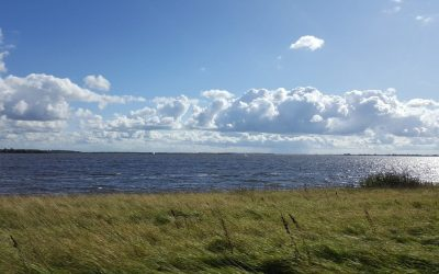 uitzicht over Friesland