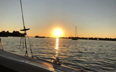 Heegermeer bij zonsondergang 2